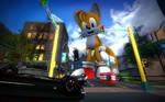 Giant Tails - Traffic Jam!