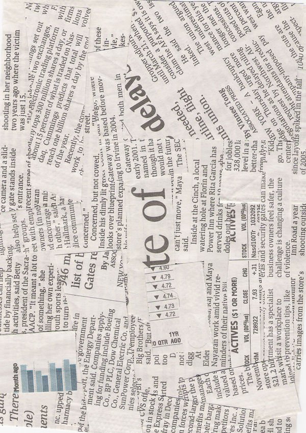 Texture03 Newspaper