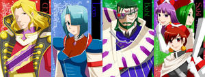 Characters of Grandia first 3