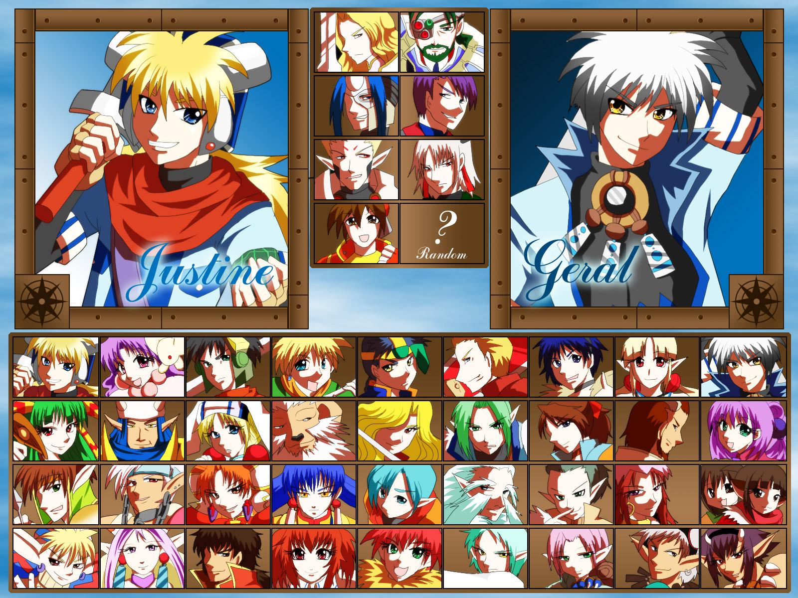 Grandia Fighting game