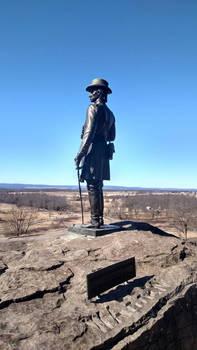 Kemble Warren Statue