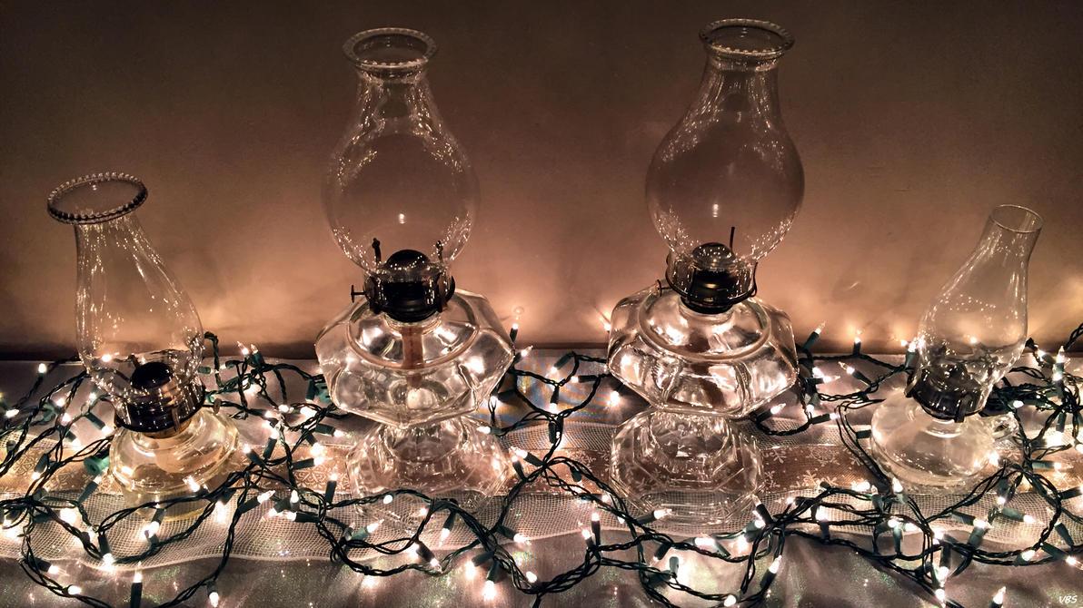 Christmas Lamps by Vonburgherstein