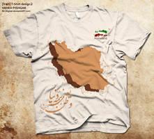 Iran T-Shirt design2 by Mr-Digital