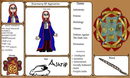 Ilvermorny RP - Jewel Maverick (2nd Character)