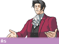 Edgeworth - I KNEW YOU'RE GAY by fire-doused