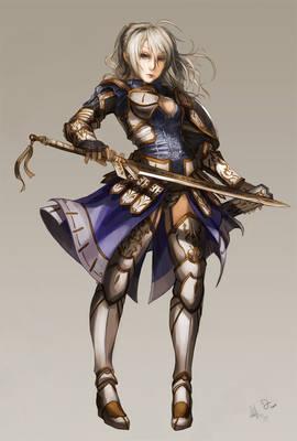 Female Warrior Fate