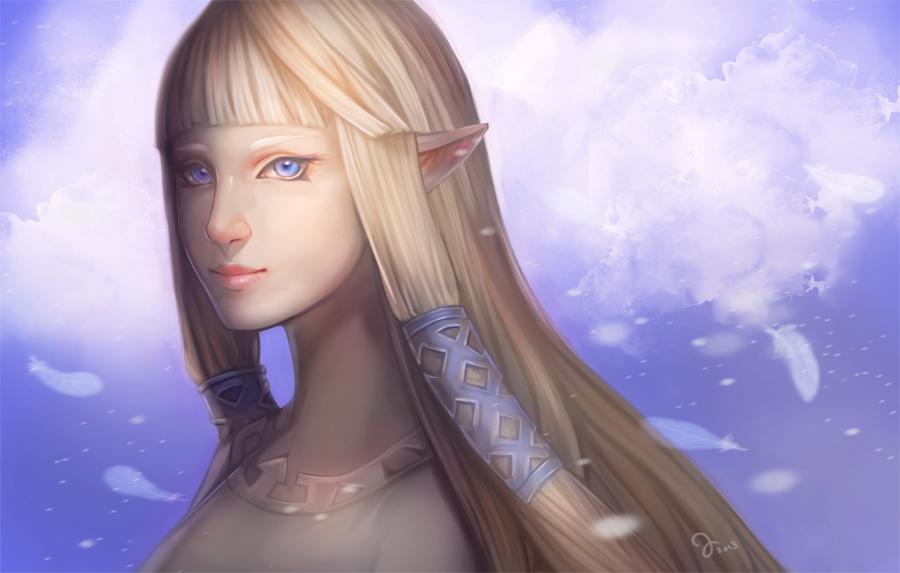 Zelda by juuhanna