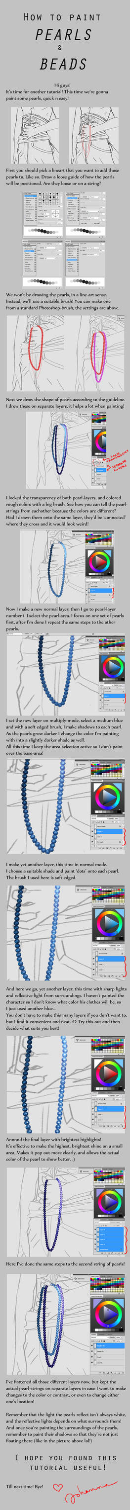 How to paint Pearls