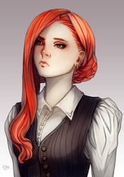 CM: Meri Portrait - color by juuhanna