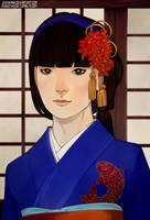 CM: Yasuki Mayumi by juuhanna