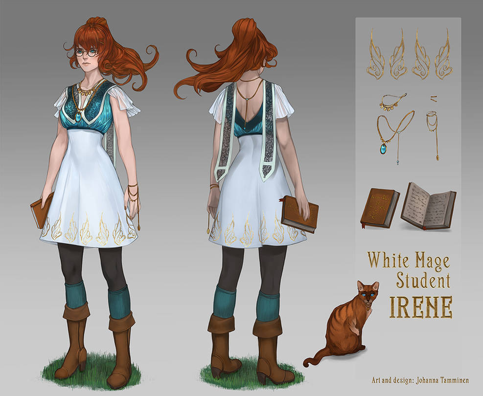 White Mage Student Irene