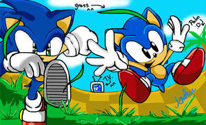 sonic generations by andreahedgehog