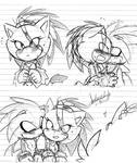 Silver + Blaze Doodles 2
