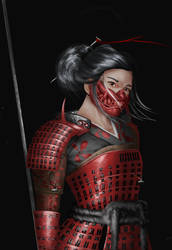 Samurai by loldrui