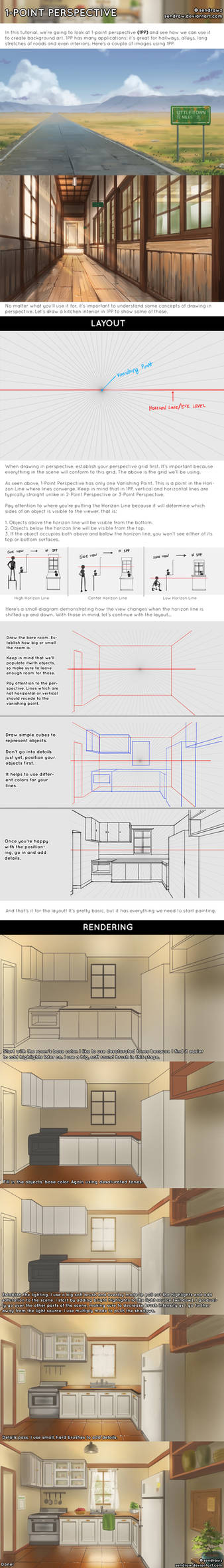 1-Point Perspective Tutorial