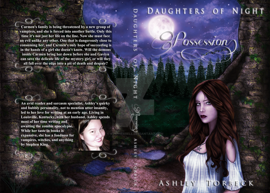 Daughters Of Night: Possession Book Cover Art by Stepherbell
