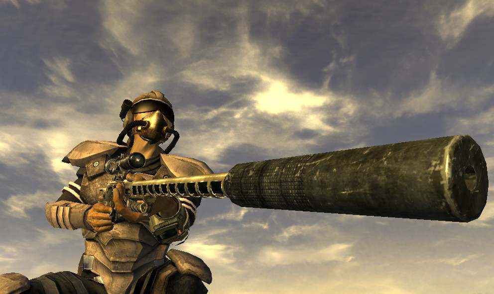 Fallout nv sniper rifle by medulla14 on deviantart