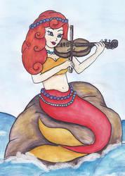 Violin Mermaid
