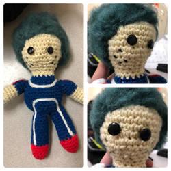 Deku Crochet Doll