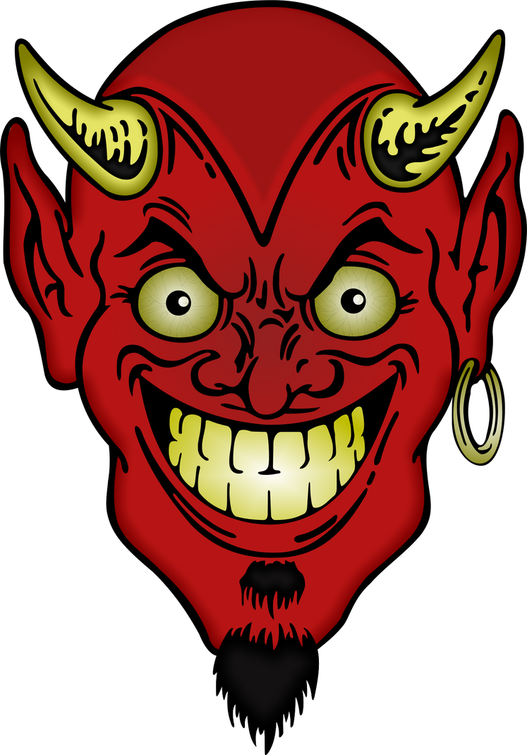 COPE- TO SHRINK BACK IN FEAR OR LOATHING - Page 2 Devil_s_face_by_cryptoworks-d865x4j