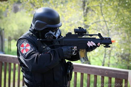 umbrella corp soldier by firedude22 on deviantART