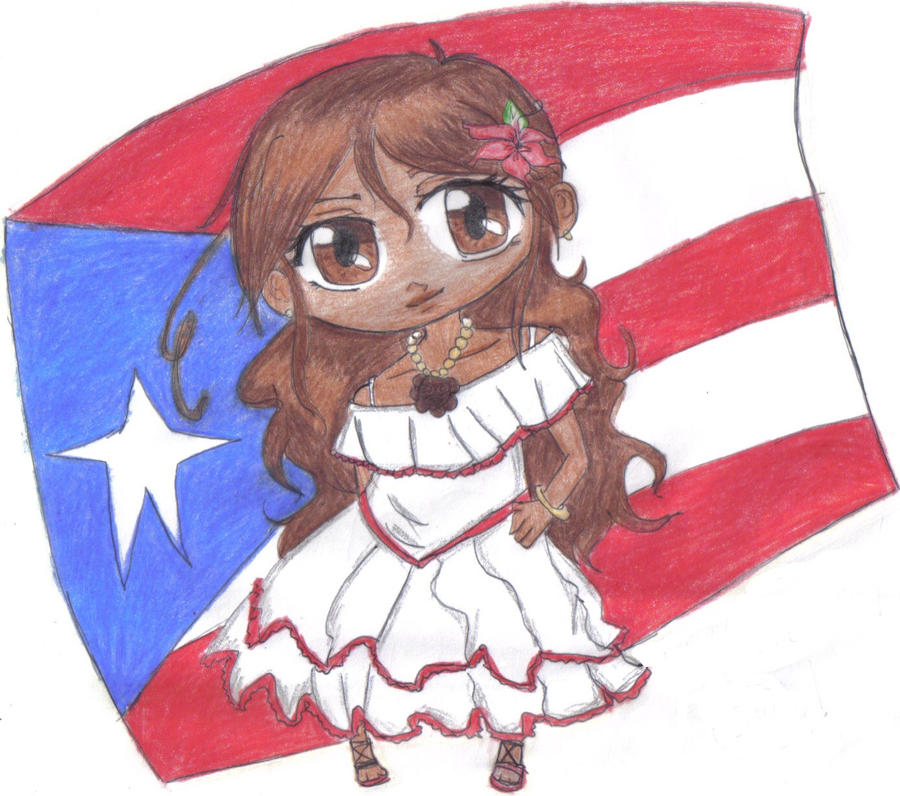 chibi request  Puerto Rico by chibi098