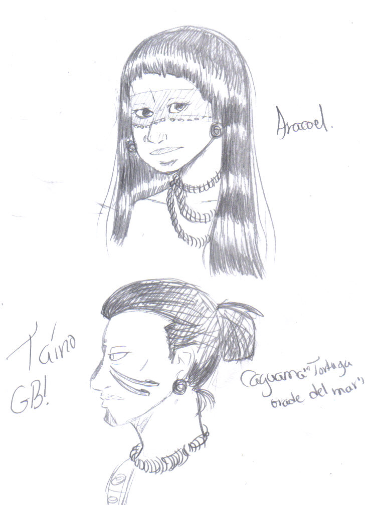 Taino Perfil Wip By Chibi098 On Deviantart