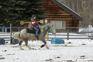 Me n horse
