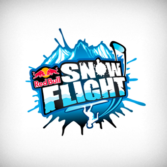rb snow flight logo by onurerler