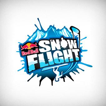 rb snow flight logo by onurerler