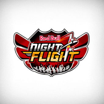 rb night flight logo by onurerler