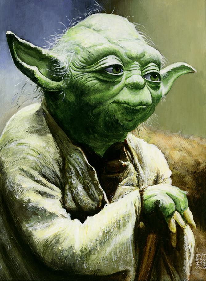 Yoda by flinx