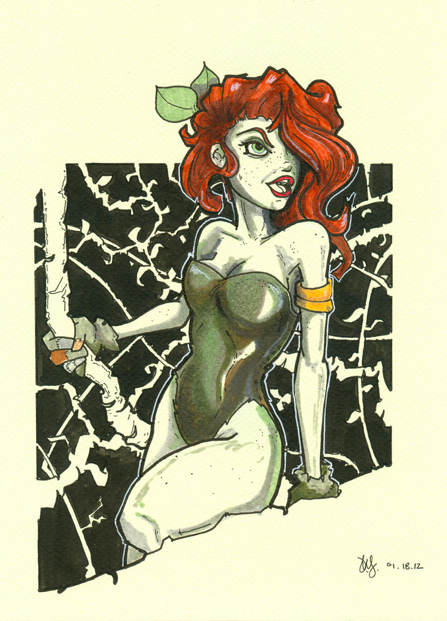 Poison Ivy by Pencilbags