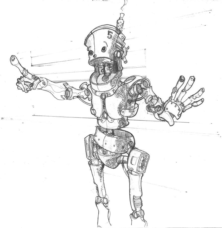 Robot Surprise - Pencils By Pencilbags On DeviantArt