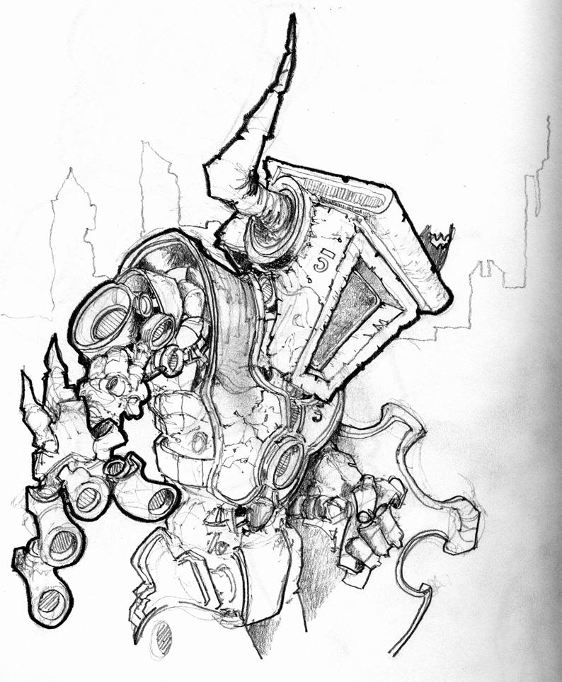 Robot Dragon Slayer Sk...