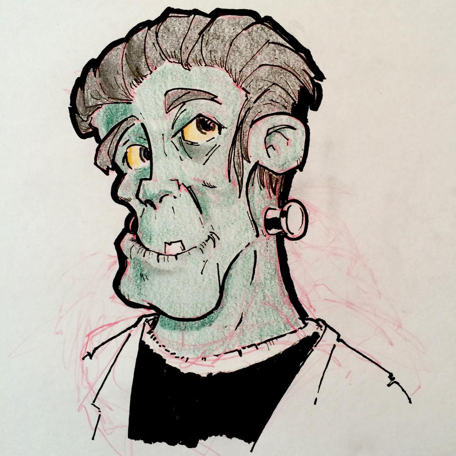 Frankenstein by Pencilbags