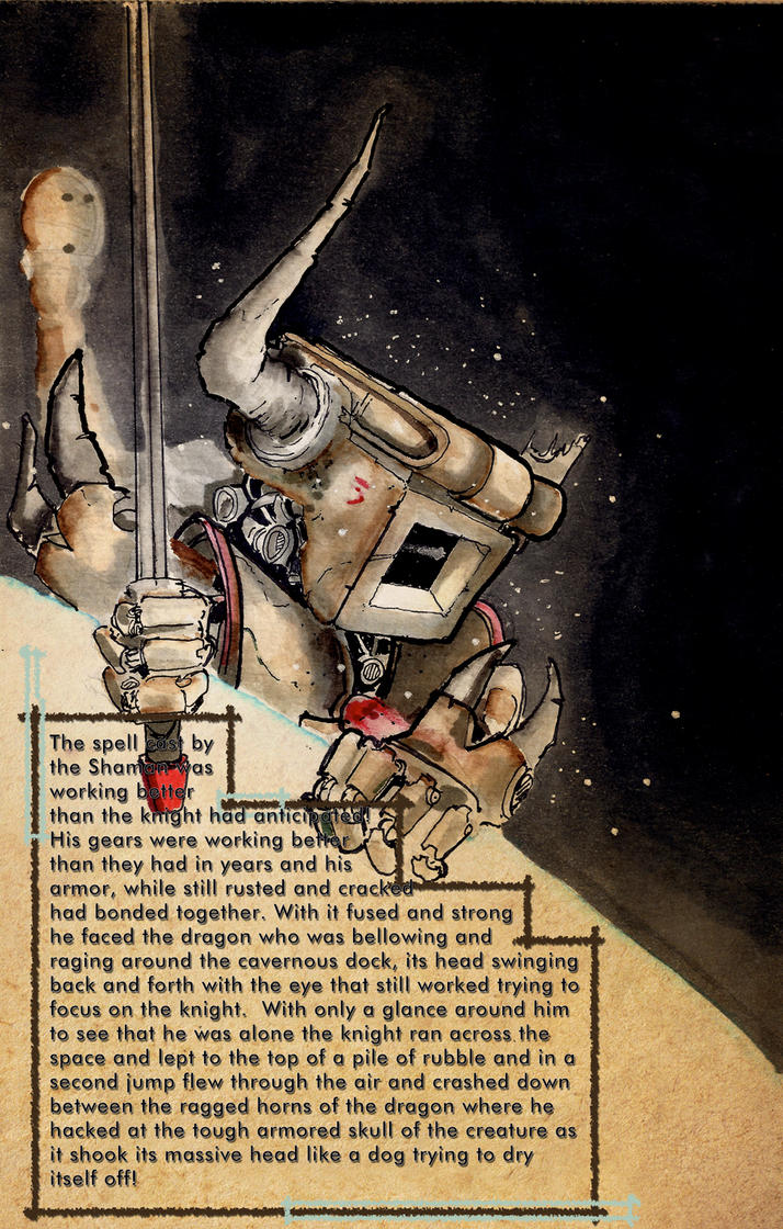 Robot Dragon Slayer Episode 17 by Pencilbags