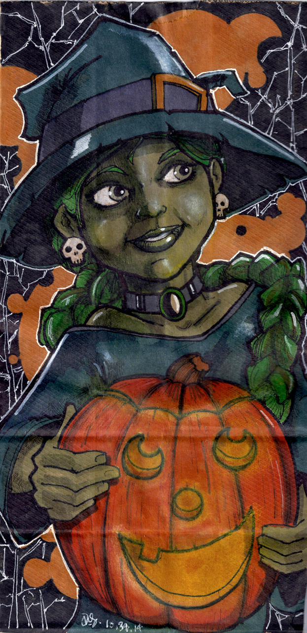Halloween Lunch Bag by Pencilbags