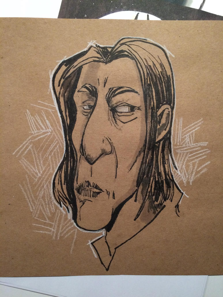 Snape ink by Pencilbags