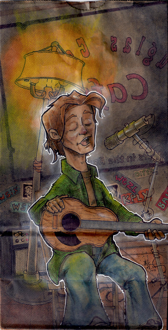 Nashville songwriter by Pencilbags