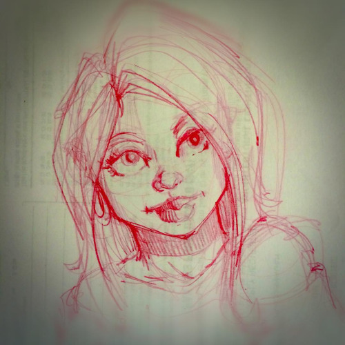 Girl Sketch 56 by Pencilbags