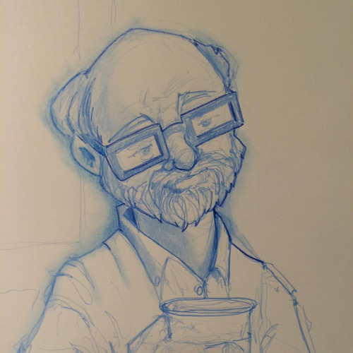 Starbuck Denizen Sketch by Pencilbags