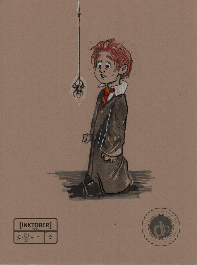 Ron Weasley - Inktober #3 by Pencilbags