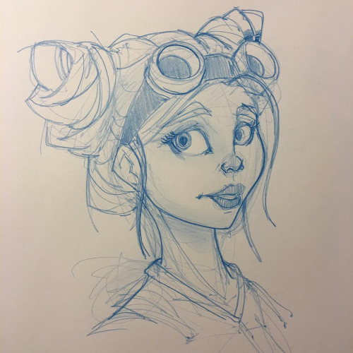 Steampunk Girl XII by Pencilbags on DeviantArt