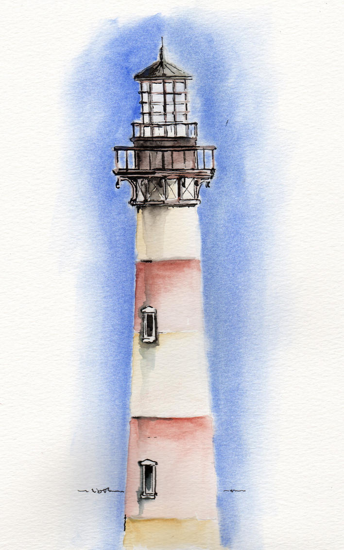 Morris Island Lighthouse by Pencilbags