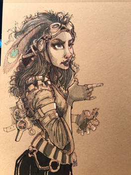 Steampunk Character study