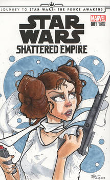 Star Wars: Shattered Empire Blank Cover