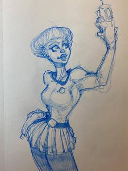 Space Ranger 17 Sketch