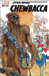 Steampunk Chewbacca Cover