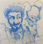 Steampunk Lando Sketch